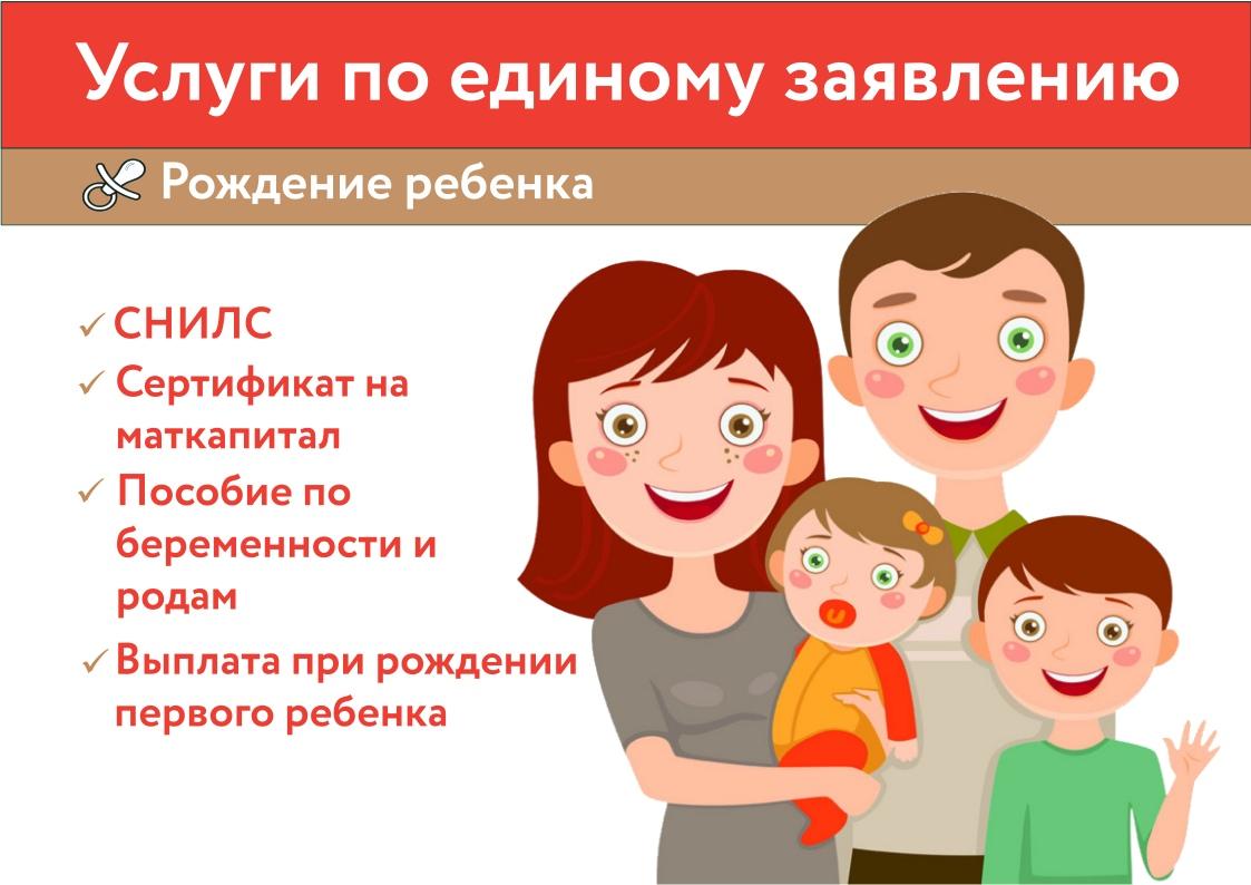 Рождение ребенка – счастливое событие!